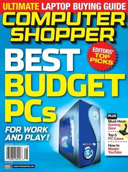 Computer Shopper Cover - 8/1/2008
