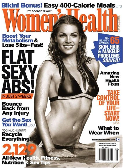 Women's Health Cover - 8/1/2008