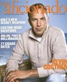 Cigar Aficionado Magazine 8/1/2008
