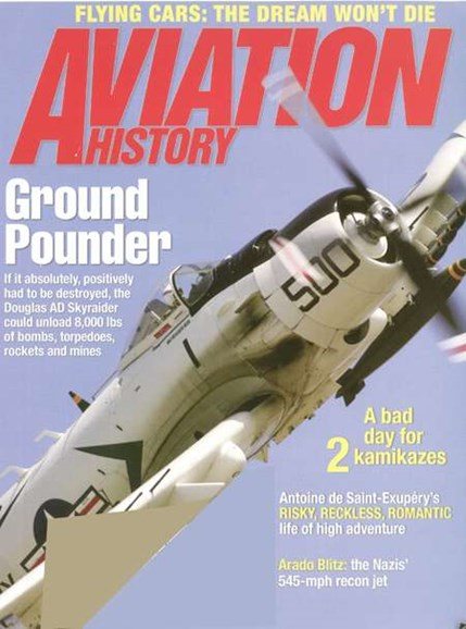 Aviation History Cover - 9/1/2008