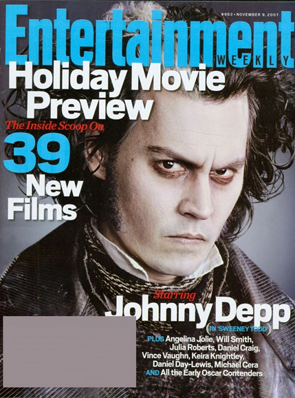 Entertainment Weekly Cover - 11/1/2007