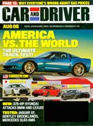 Car And Driver Magazine 8/1/2008