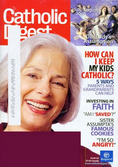 Catholic Digest Cover - 7/1/2008