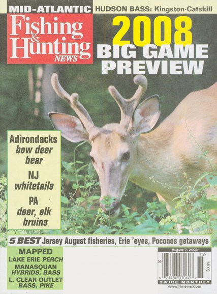 Fishing & Hunting News Cover - 8/7/2008