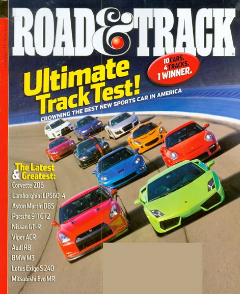 Road & Track Cover - 9/1/2008
