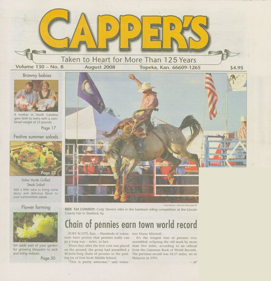 Capper's Cover - 8/1/2008