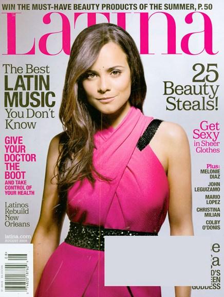 Latina Cover - 8/1/2008