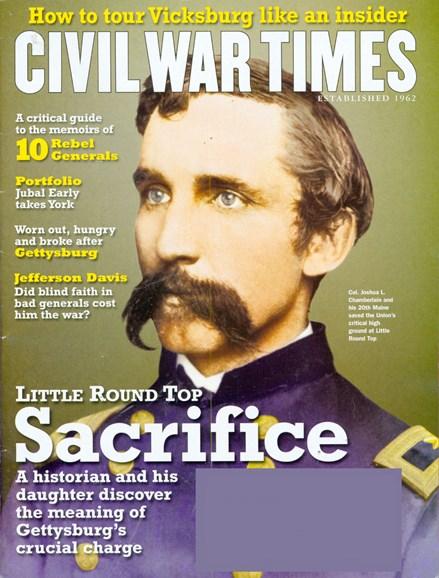 Civil War Times Cover - 7/1/2008