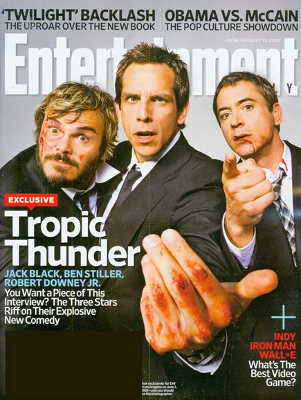 Entertainment Weekly Cover - 8/15/2008