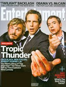 Entertainment Weekly Magazine 8/15/2008
