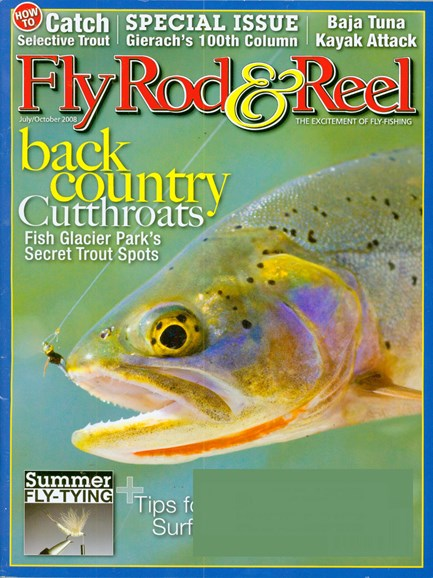 Fly Rod & Reel Magazine Cover - 7/1/2008