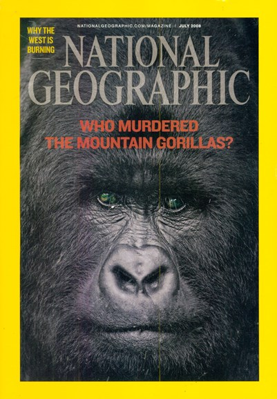 National Geographic Cover - 7/1/2008