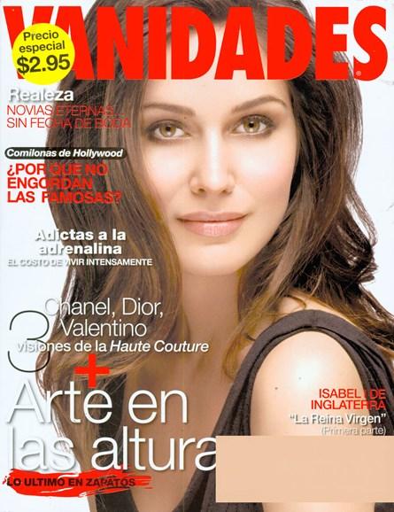 Vanidades Cover - 9/21/2008