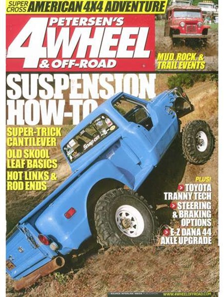 4 Wheel & Off-Road Cover - 9/1/2008