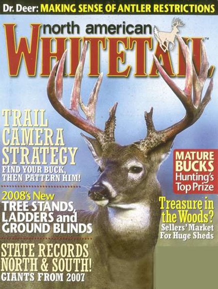 North American Whitetail Cover - 8/1/2008