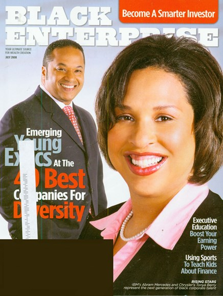 Black Enterprise Cover - 7/1/2008