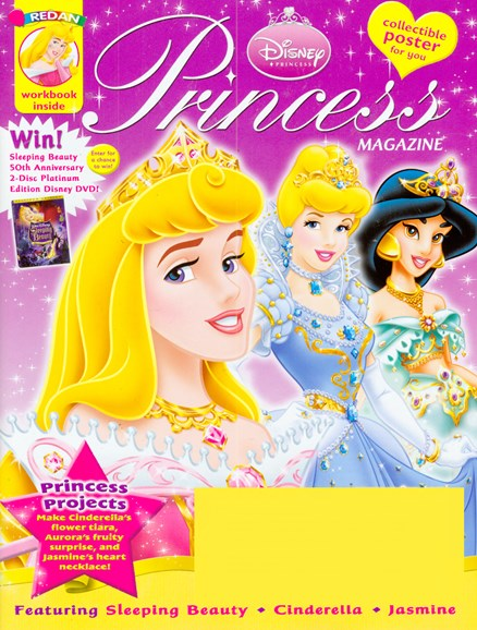 Disney Princess Cover - 9/1/2008