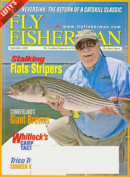 Fly Fisherman Cover - 9/1/2008