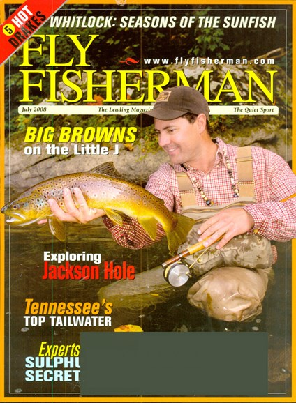 Fly Fisherman Cover - 6/1/2008