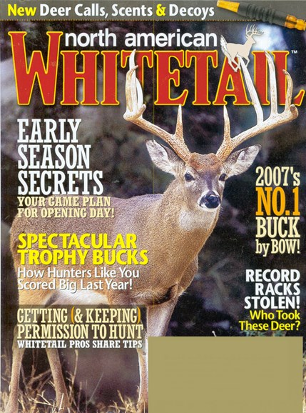 North American Whitetail Cover - 9/1/2008