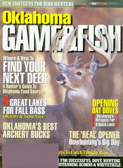 Oklahoma Game & Fish Cover - 10/1/2008