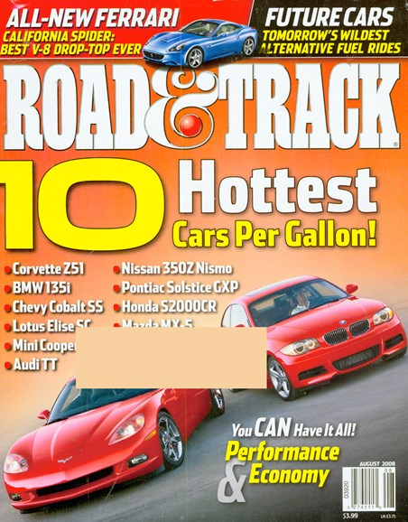 Road & Track Cover - 8/1/2008