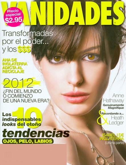 Vanidades Cover - 8/26/2008