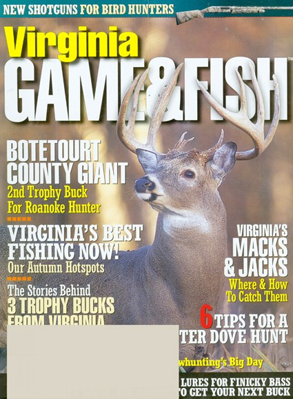 Virginia Game & Fish Cover - 9/1/2008