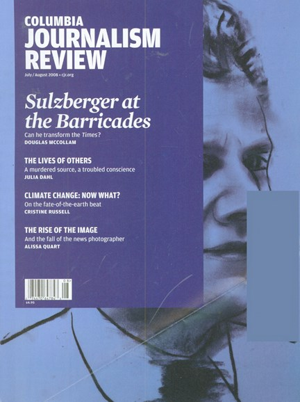 Columbia Journalism Review Cover - 7/1/2008