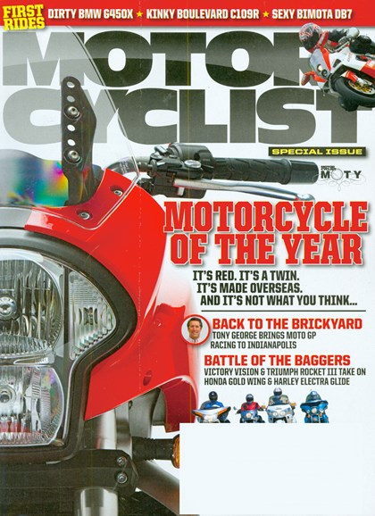 Motorcyclist Cover - 9/1/2008