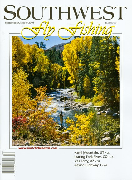 Southwest Fly Fishing Cover - 9/1/2008