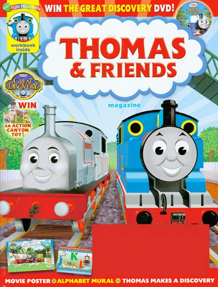 Thomas & Friends Cover - 9/1/2008