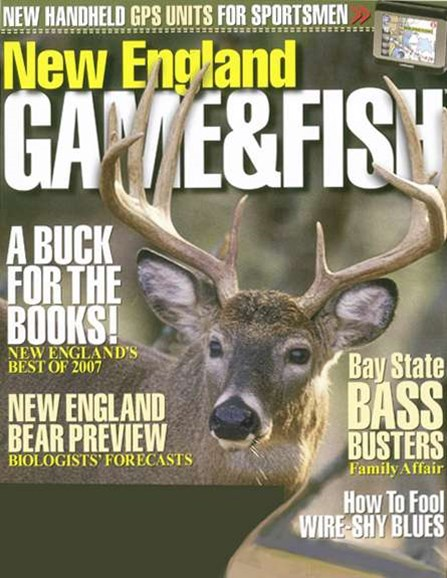 New England Game & Fish Cover - 8/1/2008