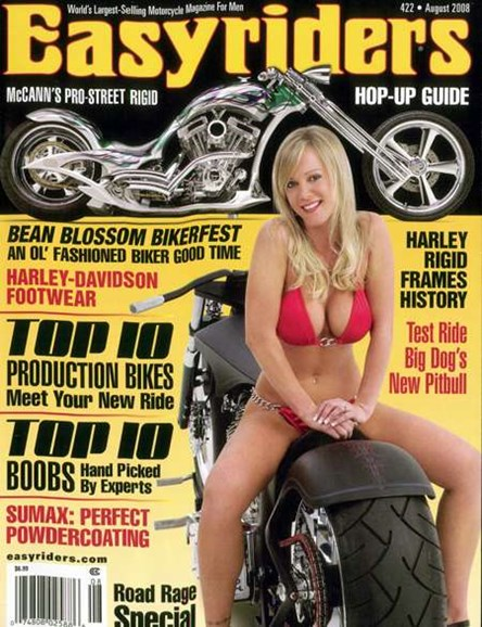 Easyriders Cover - 8/1/2008