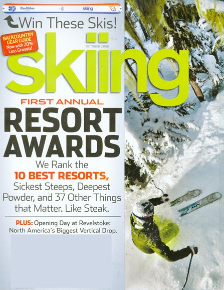 Skiing Cover - 10/1/2008