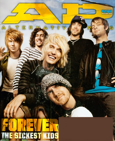 Alternative Press Cover - 11/1/2008