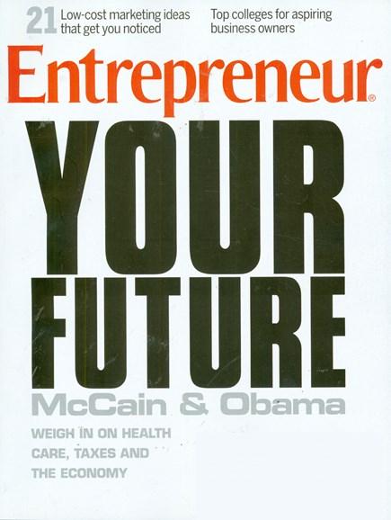 Entrepreneur Cover - 10/1/2008