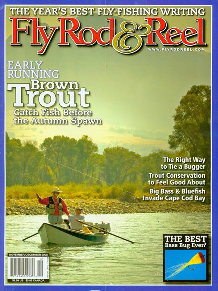 Fly Rod & Reel Magazine Cover - 11/1/2008