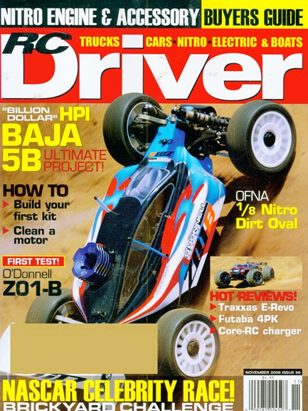 RC Driver Cover - 11/1/2008