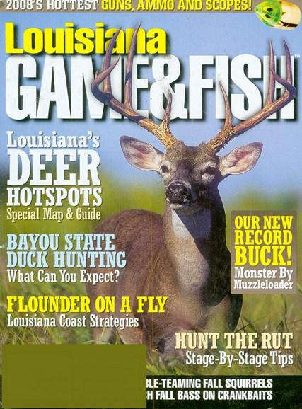 Louisiana Game & Fish Cover - 10/1/2008
