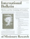 International Bulletin Of Missionary Research | 10/1/2008 Cover
