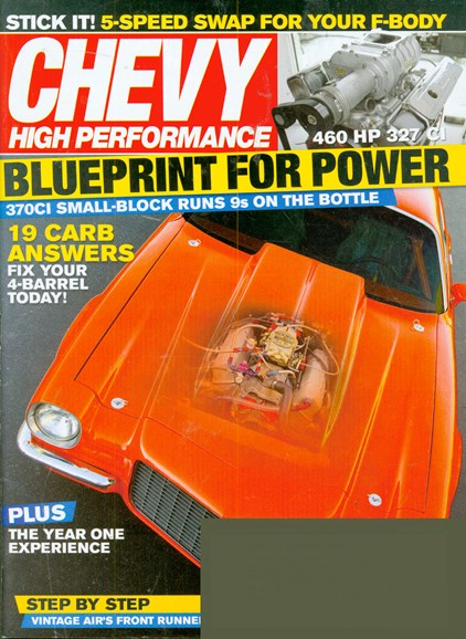 Chevy High Performance Cover - 10/1/2008