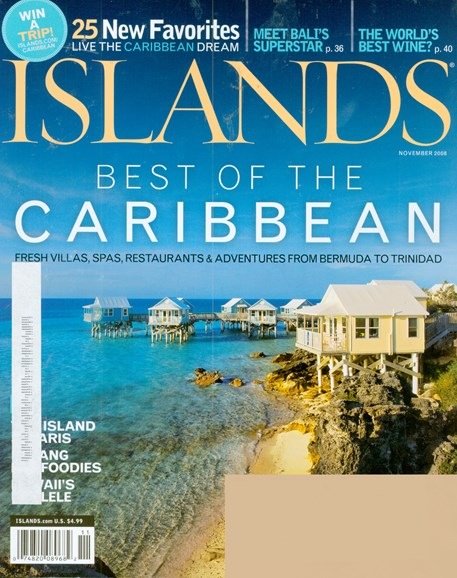 Islands Cover - 11/1/2008