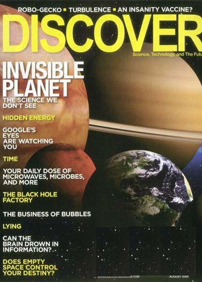 Discover Cover - 8/1/2008