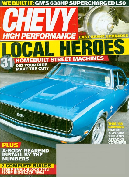 Chevy High Performance Cover - 11/1/2008