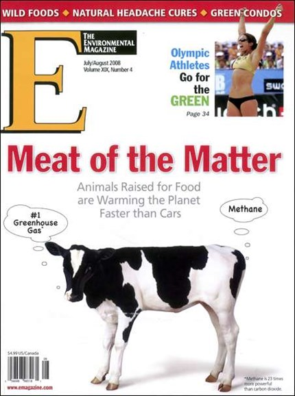 E: The Environment Magazine Cover - 8/1/2008