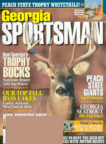Georgia Sportsman Cover - 11/1/2008