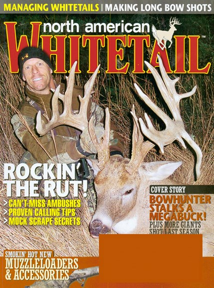 North American Whitetail Cover - 11/1/2008