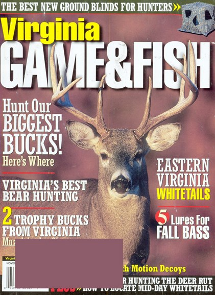 Virginia Game & Fish Cover - 11/1/2008