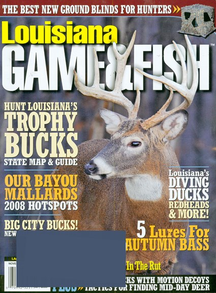 Louisiana Game & Fish Cover - 11/1/2008